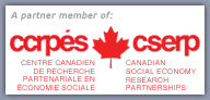 A partner member of the Canadian Social Economy Research Partnerships.
