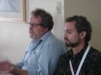 Mike Gismondi and Mark Roseland at the CIRIEC conference